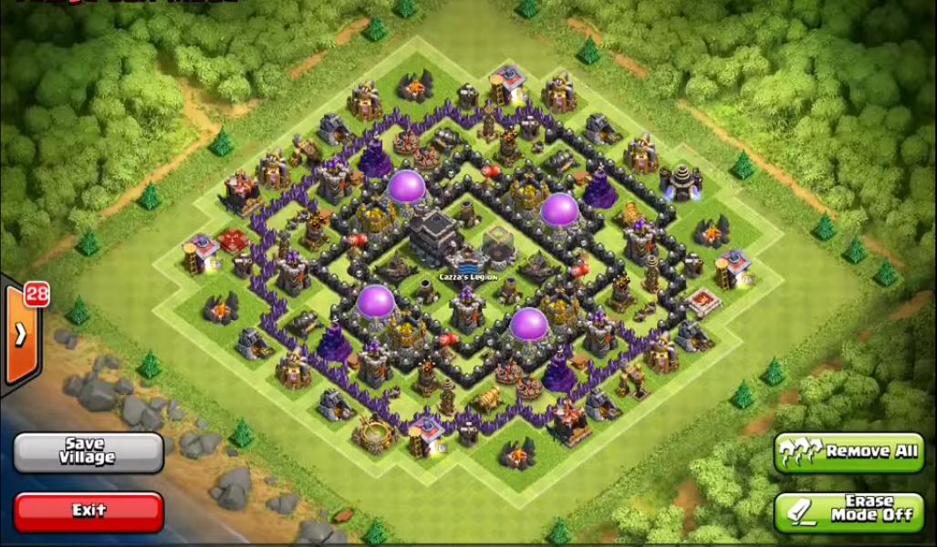 Best Clash Of Clans Level  Base Design