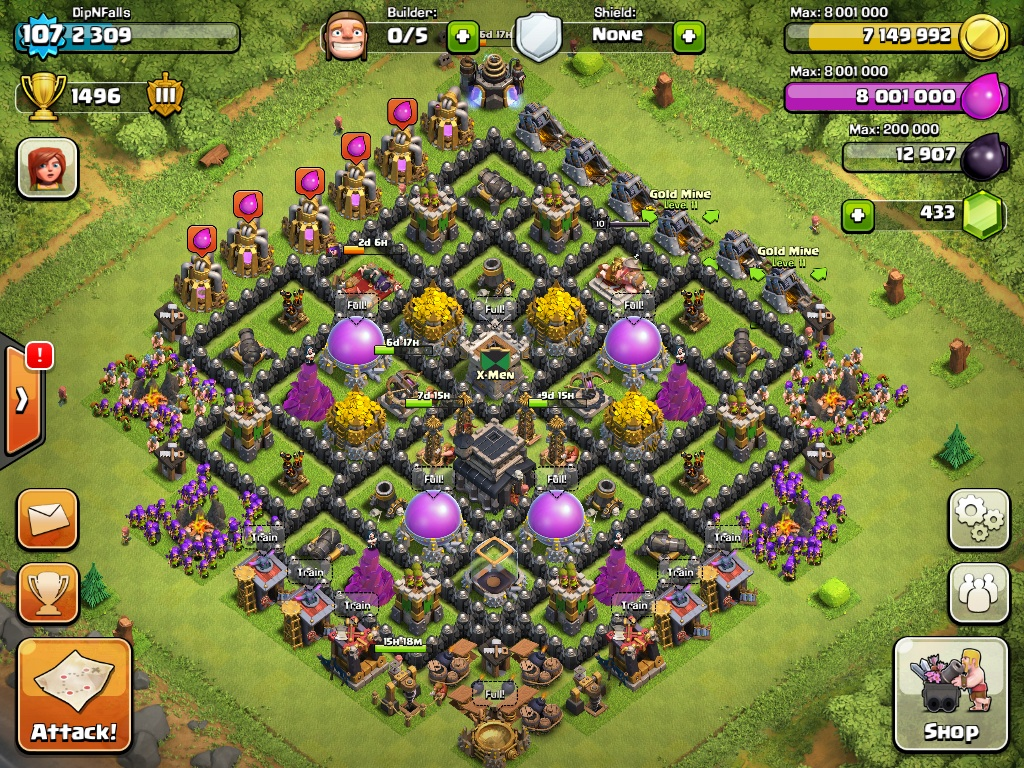 Best Clash Of Clans Base Design Town Hall Level
