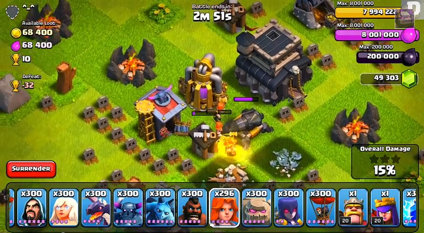Valkyrie -Top 10 Clash of clans update