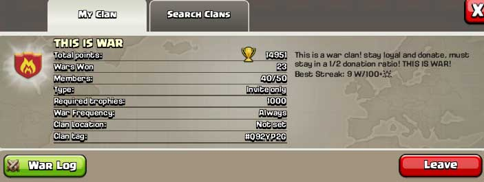 Clash-of-Clans-unique-Clan hashtag