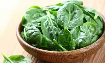 Spinach  - Heart Healthy Diet