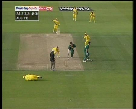 Australia vs South Africa- World Cup tie - Top 10 world cup performances - Thats My Top 10